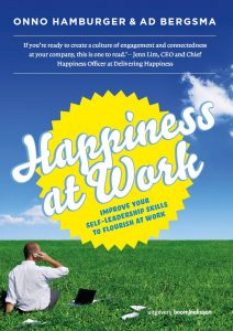 Omslag boek Happiness at work