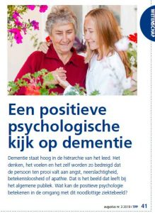 Kopie van pagina uit Tijdschrift Positieve Psychologie