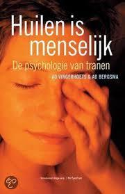 Omslag boek over huilen