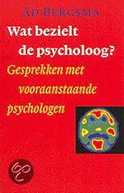 Omslag boek Wat bezielt de psycholoog