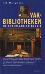 Omslag boek Vakbibliotheken