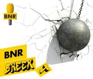 Logo BNR breekt