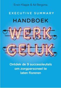 Omslag Executive Summary Handboek Werkgeluk